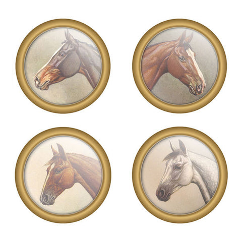 Equestrian Full Color Coaster Set by Seven Barks