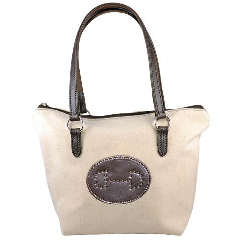 Special Woolrich Wool Brunch Bag with Hand Punched Bit Emblem