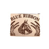 Maryann Large Envelope Fancy Blue Ribbon Horse