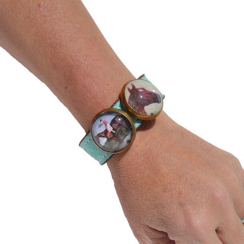 Suede Slide Bracelet - Closeout Colors