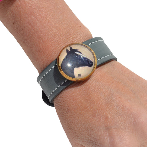Select Leather Slide Bracelet