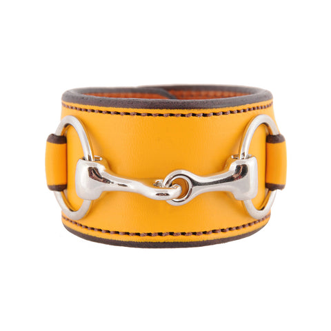 Rebecca Ray Designs - Closeout Colors - Bit Cuff with Stainless Steel Snaffle Bit - Closeout - Made in America