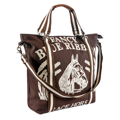 Maryann Tote Fancy Blue Ribbon Horse