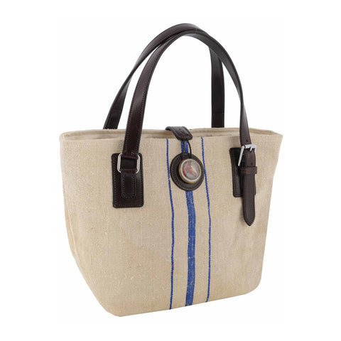 Trapper Handbag French Linen