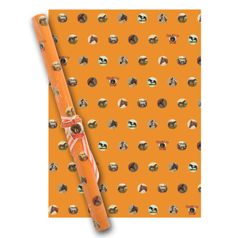 Equestrian Wrapping Paper by Seven Barks