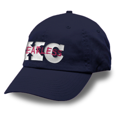 XC Fearless Logo Unstructured Washed Twill Cap
