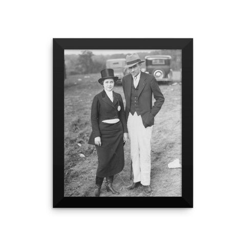 Rebecca Ray Designs - Best dressed couple - Framed - 3 Sizes - Poster - Made in America