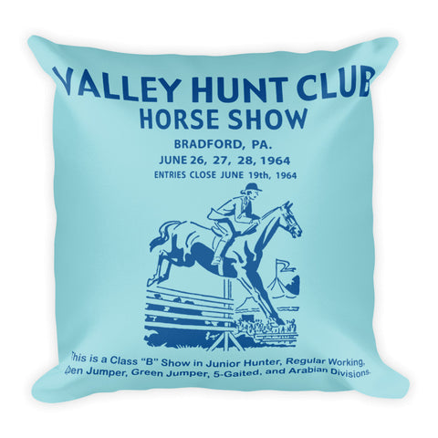 Hunt Club Pillow - Island Paradise/Lapis Blue