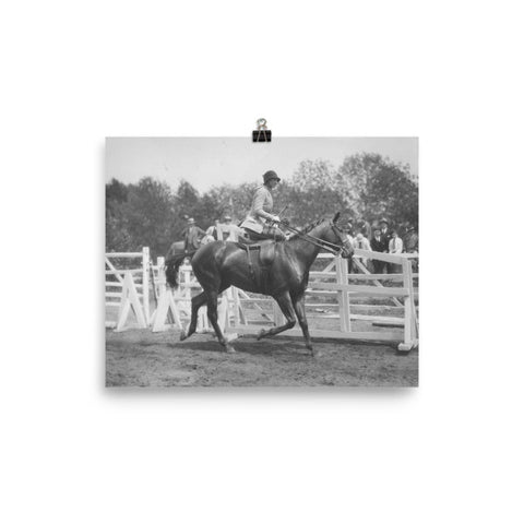 Sidesaddle showing - 8x10