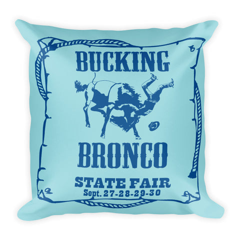 Bronco Pillow - Island Paradise/Lapis Blue