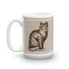 Archival Ink 15oz Made in America Mug - Cat