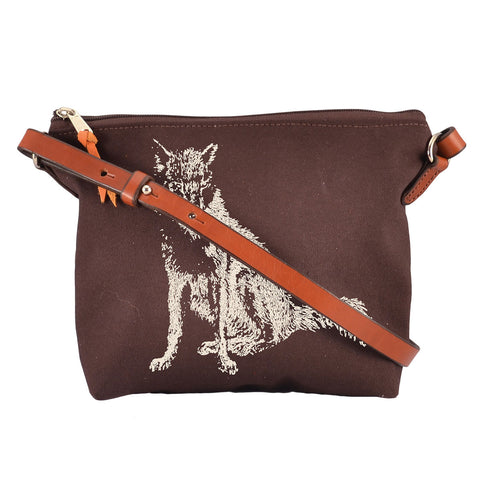 Rebecca Ray Designs - Burghley Crossbody Fox Design - Handbag - Made in America