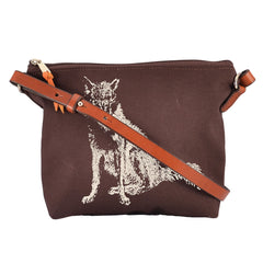 Burghley Crossbody Fox Design