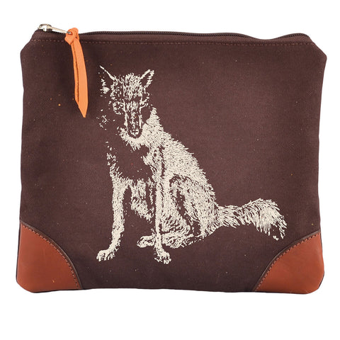Rebecca Ray Designs - Burghley Medium Envelope with Fox Design - Envelope - Made in America