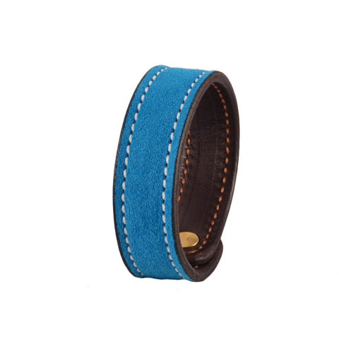 Rebecca Ray Designs - Azure Suede Slide Bracelet - Love the color - Made in America