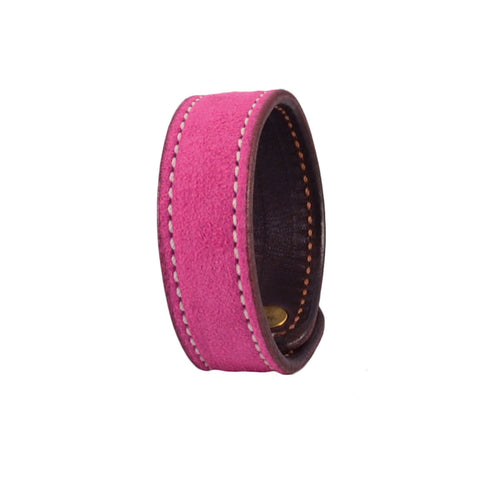 Rebecca Ray Designs - Bright Berry Suede Slide Bracelet - Love the color - Made in America
