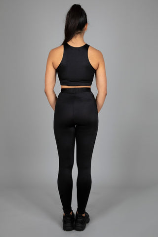Mono Set of Crop Top & Leggings