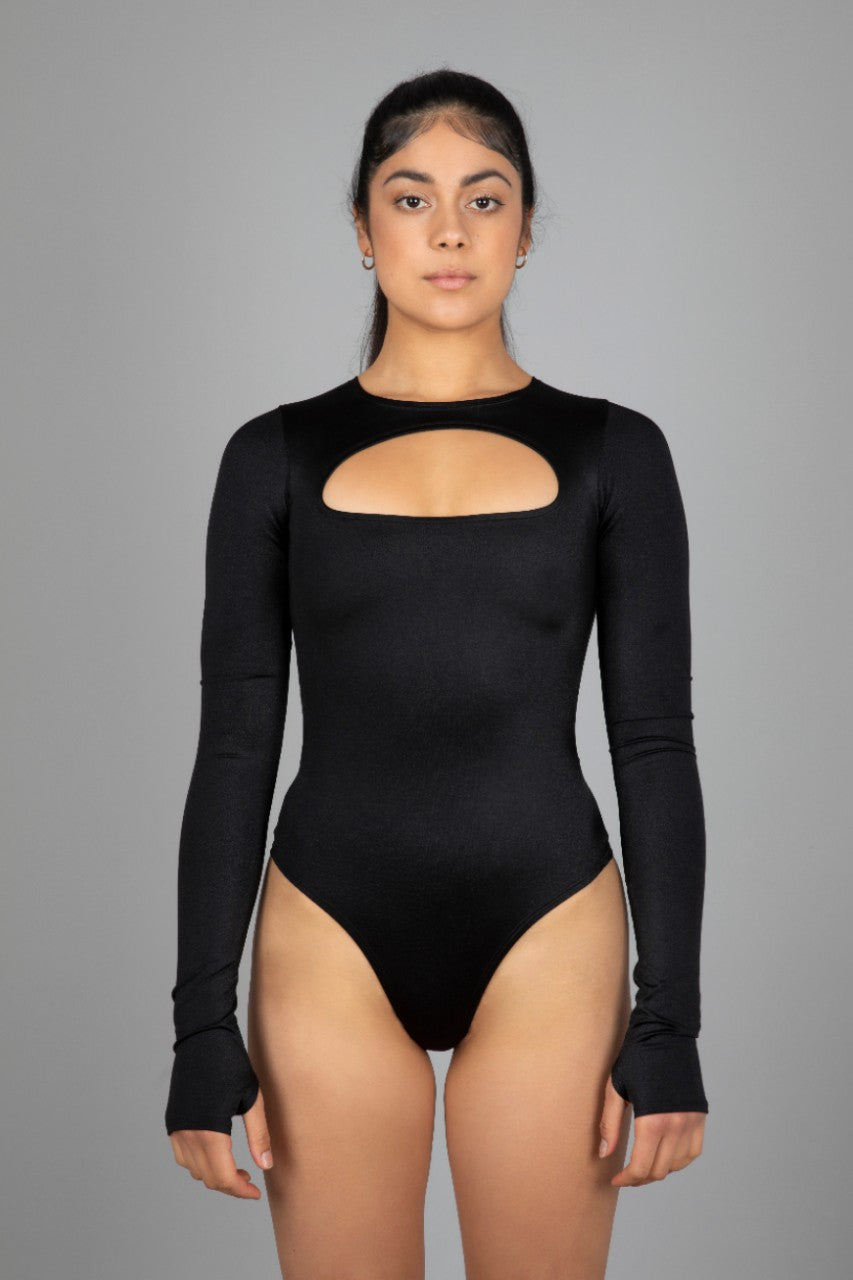 Unapologetic Bodysuit, Black