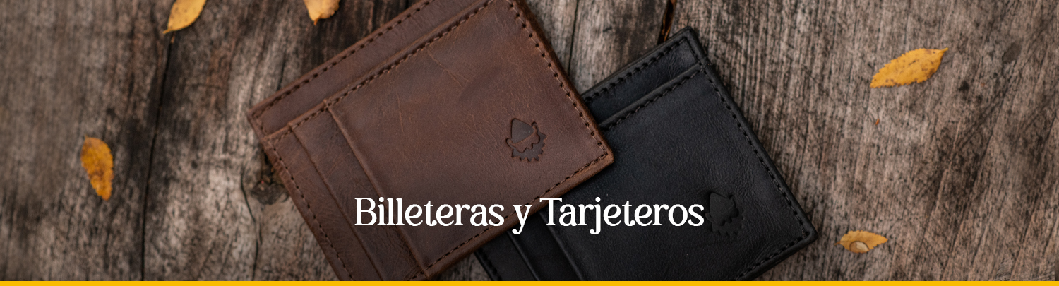 Billeteras & Tarjeteros