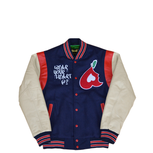 Heart Big Apple Varsity Jacket