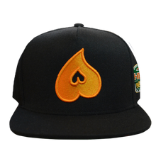 Load image into Gallery viewer, Heart Snapback W/ Side Patch