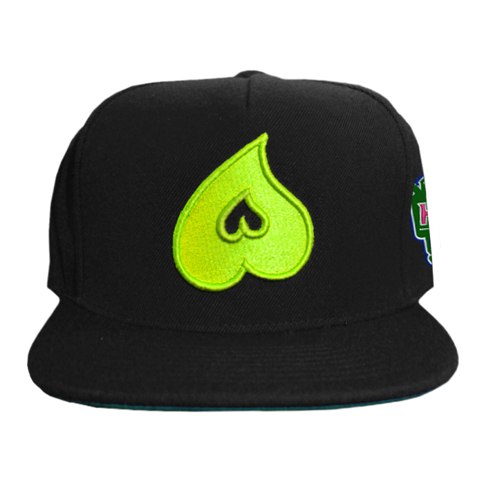 Heart Snapback W/ Side Patch
