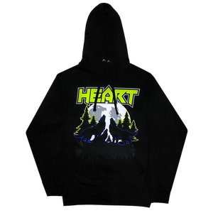 Heart Howling Wolves Hoody