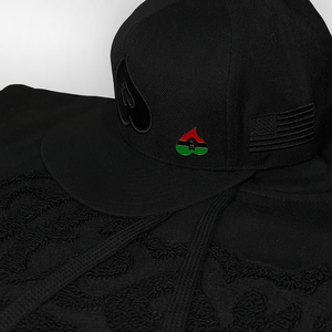 Exclusive Heart BHM Snapback W/ Pin