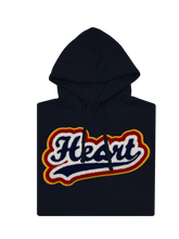 Load image into Gallery viewer, Heart Chenille Hoody (Nvy)