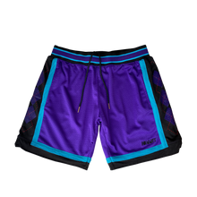 Load image into Gallery viewer, Heart Argyle Mesh Shorts