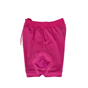 Heart Solid Mesh Shorts