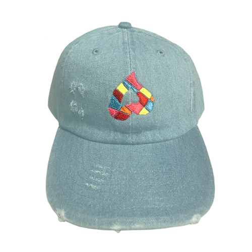 Heart Stained Glass Dad Hat