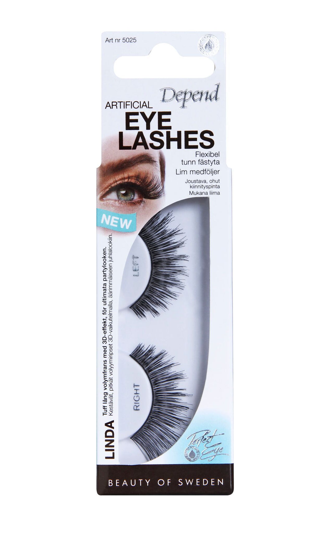 Eyelashes Linda 5025