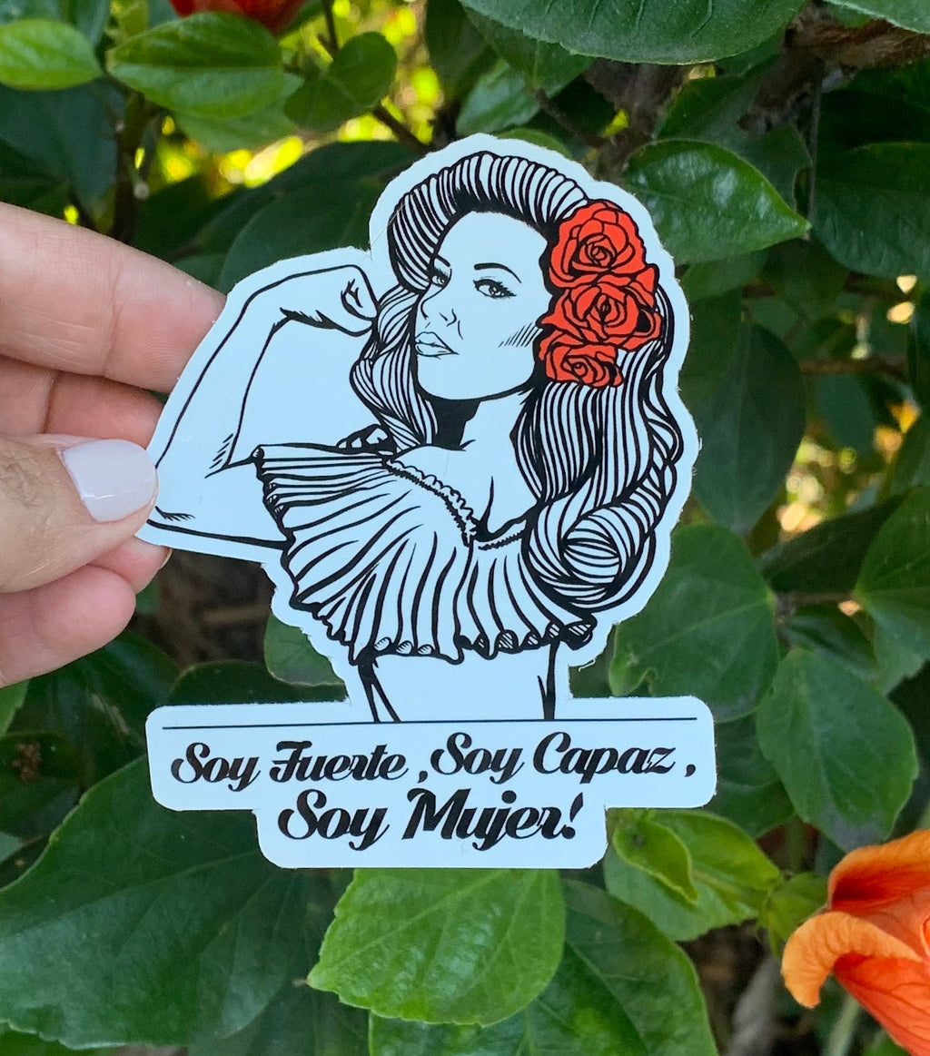 Soy Mujer (Sticker)