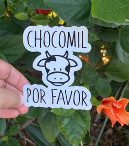 Chocomil Por Favor (Sticker)
