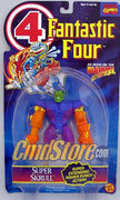 "SUPER SKRULL W/Extending Power Punch 6"" Action Figure  FANTASTIC FOUR ANIMATED SERIES Marvel Toy Biz Toy"