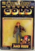 "BLACK WIDOW 5"" Action Figrue MARVEL GOLD COLLECTOR'S EDITION Toy Biz Toy"