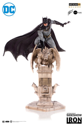 1:10 Art Scale Line 12 Inch Statue Figure Batman Comics - Batman Deluxe Iron Studios 904434