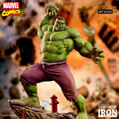 1:10 Art Scale Line 11 Inch Statue Figure Battle Diorama Series - Hulk Iron Studios 904523