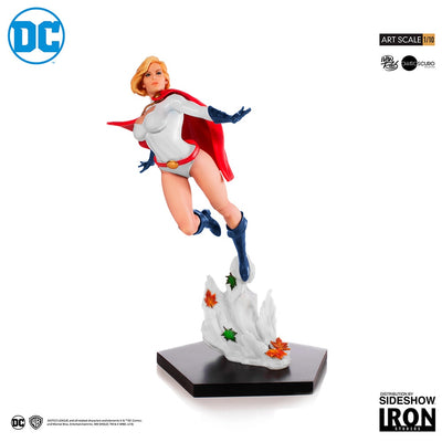 1:10 Art Scale Line 10 Inch Statue Figure DC Comics - Power Girl Iron Studios 903761