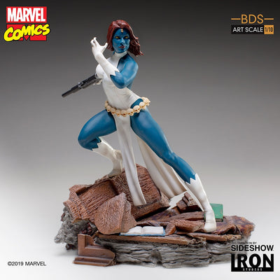1:10 Art Scale Line 7 Inch Statue Figure X-Men Diorama - Mystique Iron Studios 904528
