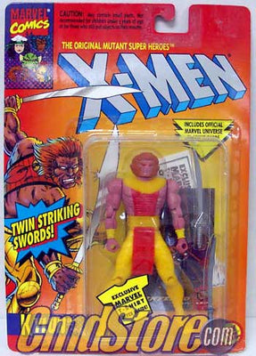KYLUN Twin Striking Swords The Uncanny X-Men Marvel Action Figure By Toy Biz