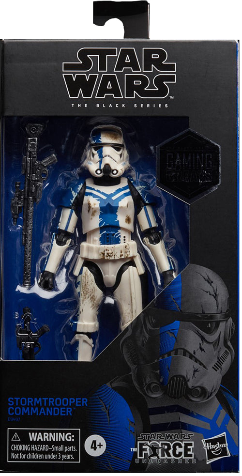 Star Wars The Black Series 6 Inch Action Figure Exclusive - Stormtrooper Commander