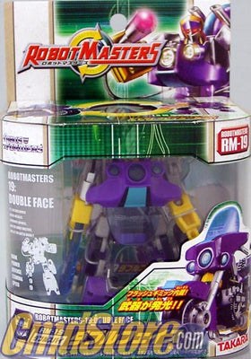 DOUBLE FACE RM-19 Action Figure TRANSFORMERS ROBOT MASTERS Takara Toy