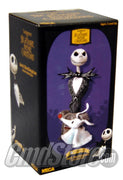 "JACK SKELLINGTON 4"" RESIN MINI BUST TIM BURTON'S THE NIGHTMARE BEFORE CHRISTMAS Neca"