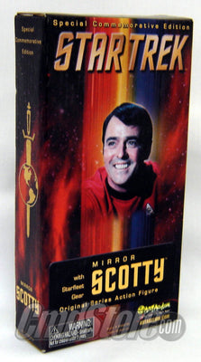 MIRROR SCOTTY W/Starfleet Gear Action Figure Artasylum