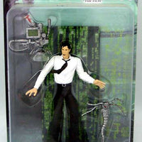 "MR. ANDERSON 6"" Action Figure THE MATRIX ""THE FILM"" SERIES 2 N2Toys WB Toy (SUB-STANDARD PACKAGING)"