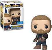 Pop Marvel 3.75 Inch Action Figure Avengers Infinity War - Captain America Exclusive #299