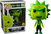 Pop Animation 3.75 Inch Action Figure Rick And Morty - Toxic Rick #335 Exclusive