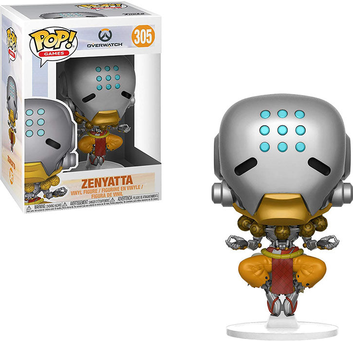 Pop Games 3.75 Inch Action Figure Overwatch - Zenyatta #305